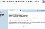Il y a 200 facteurs de référencement : vrai ou faux ?