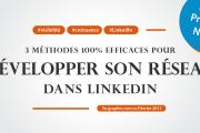 3 méthodes 100% efficaces pour développer son réseau dans LinkedIn