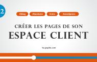 Créer les pages de son espace client dans WordPress (Module n°12.2)