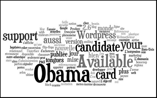 Wordle : générateur de nuage de mots