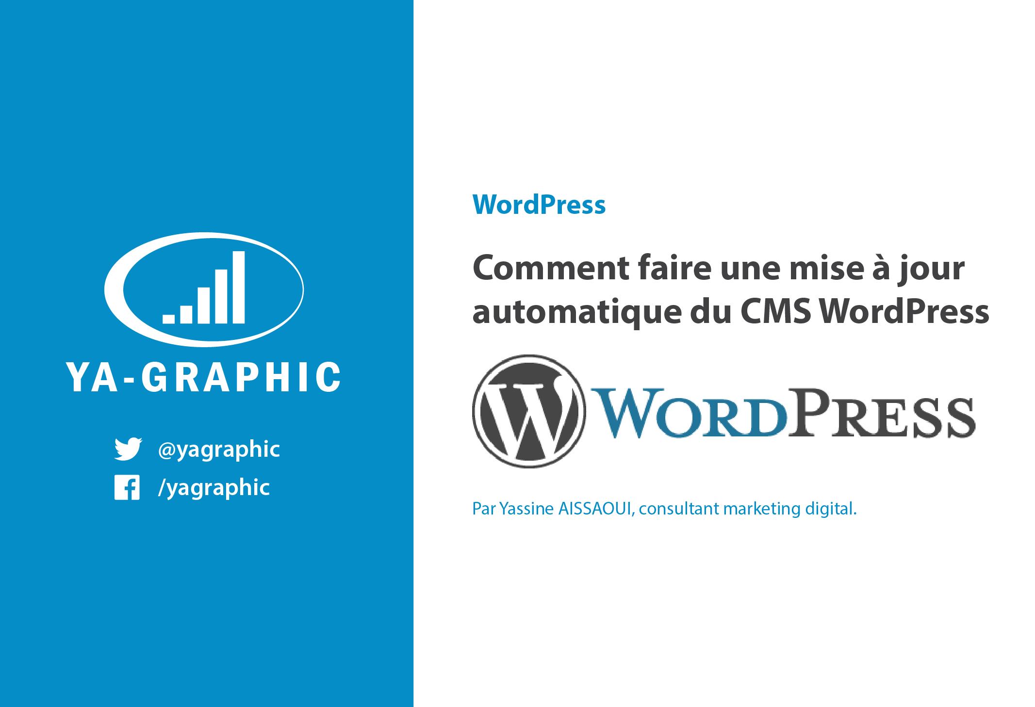 Réussir une mise à jour automatique de WordPress