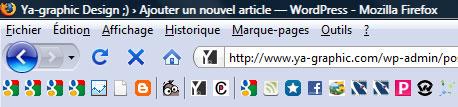 Smart Bookmarks Bar : module Firefox de marque-page