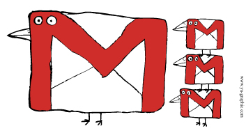 Gmail oiseaux