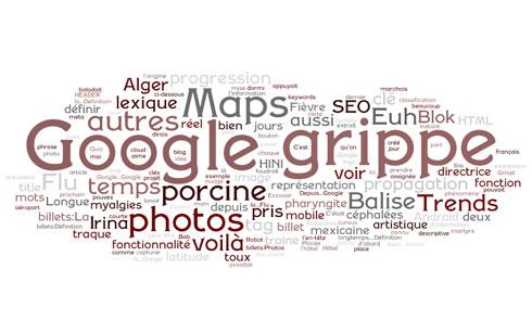 Wordle : nuage de mots clés