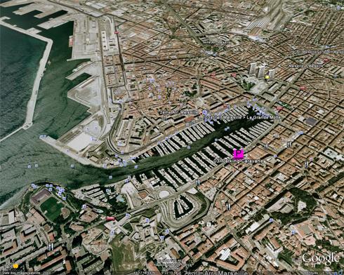 Départ de l'étape Marseille Vieux Port - La Grande-Motte