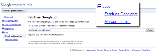 Fetch, le robot de Google pour détecter les malwares sur son site