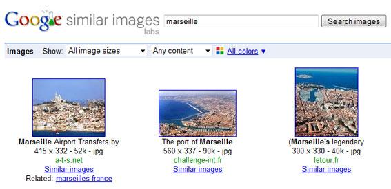 PC World : la recherche d'images similaires de Google est un Bing-like