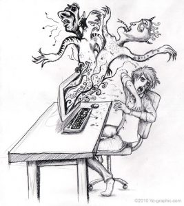 Les trolls dans les forums