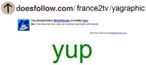 doesfollow.com - twitter france2tv