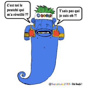 Dessin génie Google - Mille et une Nuits