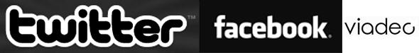 Réseaux sociaux : Facebook, Twitter, MySpace, Viadeo