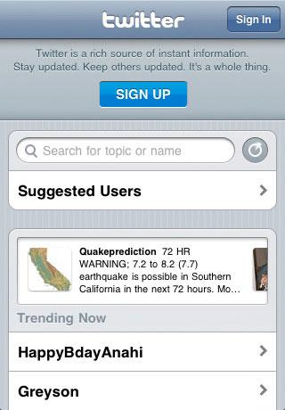 Télécharger Twitter pour iPhone (application officielle)
