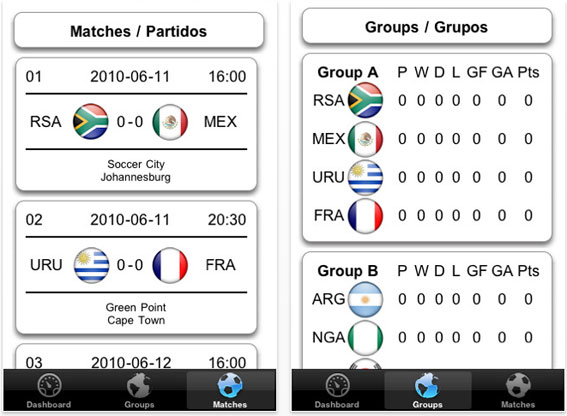 application iphone gratuite guide coupe du monde afrique