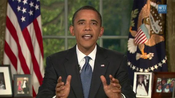 Barack Obama et l'affaire BP
