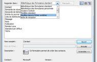 Créer un Modèle d'Email Outlook