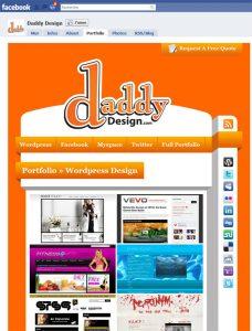 Page Facebook Daddy Design