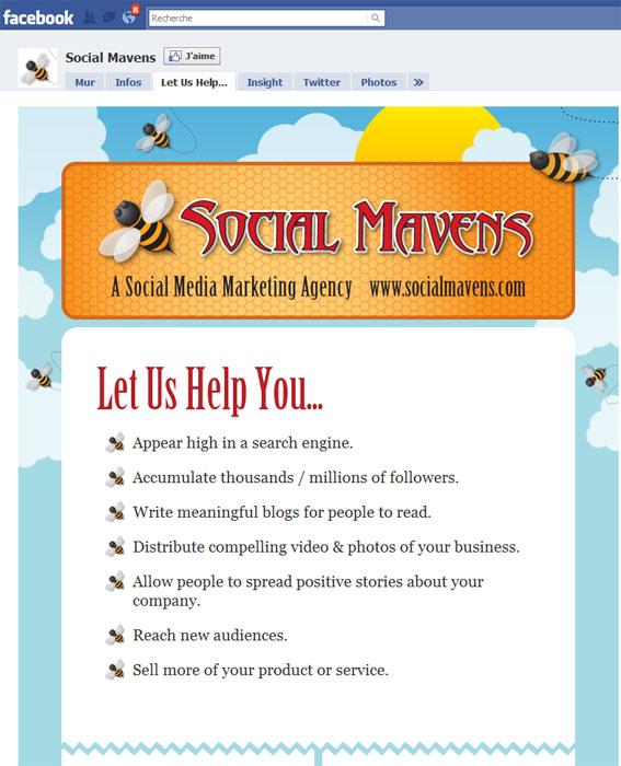 Page Facebook Social Mavens