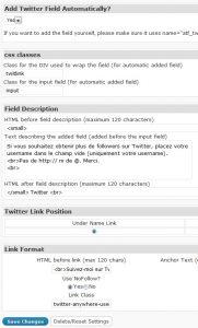 extension WordPress Twitter TwitterLink Comments