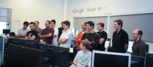 photo membres équipe de Google Instant Search