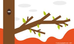 Branche d'arbre : analogie au guest blogging.