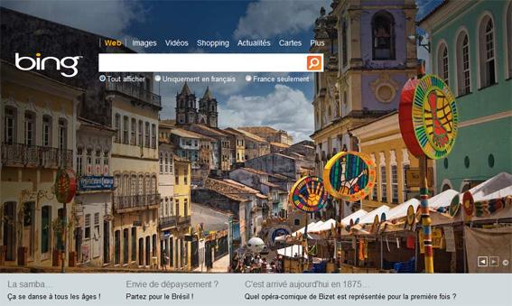 Bing version française: Pas de révolution!
