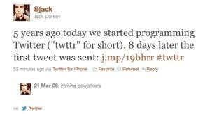 Jack Dorsey, co-fondateur de Twitter.