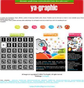 Ya-graphic.com, l'ancien site