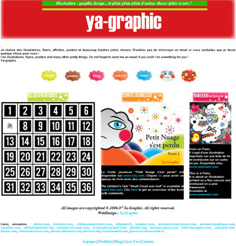 Ya-graphic.com, l'ancien site