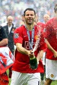 Ryan Giggs : joueur de foot à la Manchester United