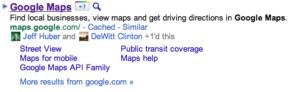 Affichage des amis de réseaux sociaux qui ont cliqué sur le bouton +1 de Google