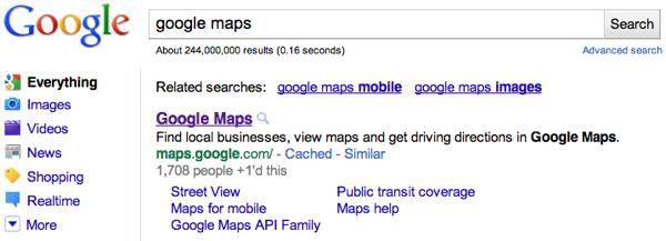 Google: Le nombre de +1 apparaît dans les résultats de recherche