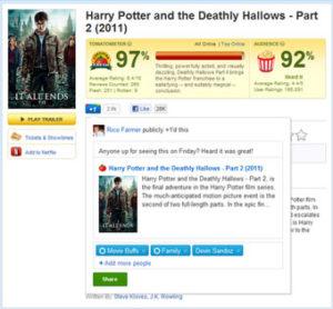 Le partage de contenu dans Google Plus via le bouton +1