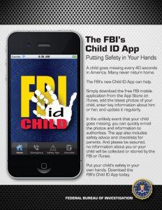 Child ID : application mobile pour signaler l'enlèvement d'enfants