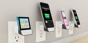 MiniDock: Prise murale sans fil pour iPhone et iPod