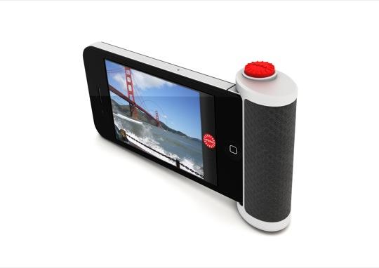Bouton d'obturateur pour iPhone 4