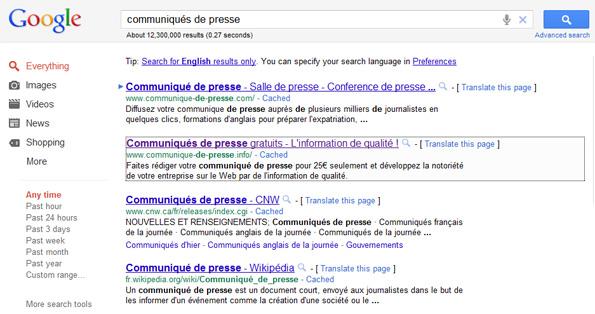 SiteLight : surligner votre site dans les résultats de Google