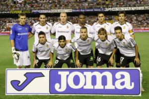 Photo: L'équipe de foot de Valence