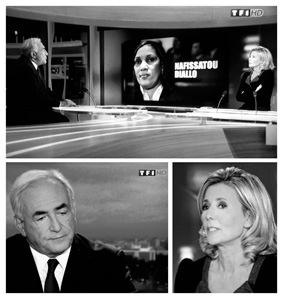 L'interview de DSK au JT de TF1
