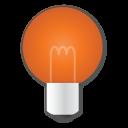 ampoule orange
