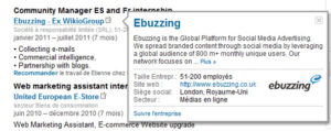 Profil employé - Page entreprise LinkedIn