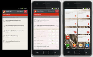 SEO SERP APP pour mobile Android