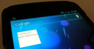 Problème d'affichage du widget de SEO SERP APP sur Google Nexus