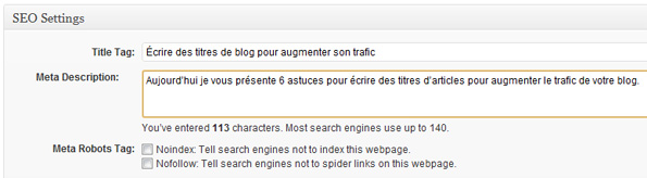 Extension SEO pour CMS WordPress