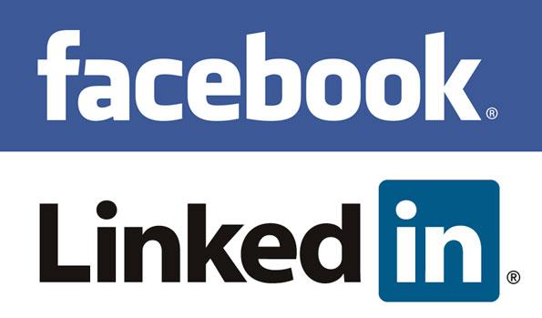 LinkedIn - Facebook