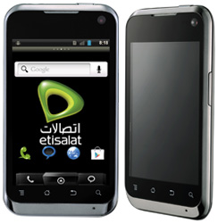 Smartphone Etisalat Egypt