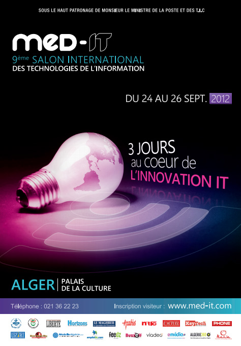 Med IT Alger (2012) : 9ème salon international des technologies de l'information