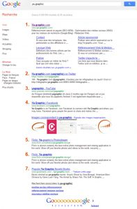 Google 7 résultats de recherche