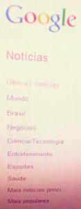 Google Actualités Brésil