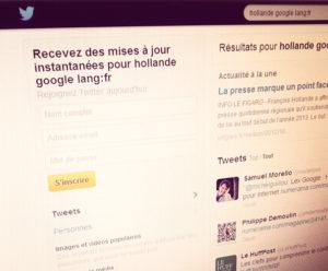 Lex Google sur Twitter