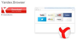 Navigateur web Yandex (Yandex.Browser)